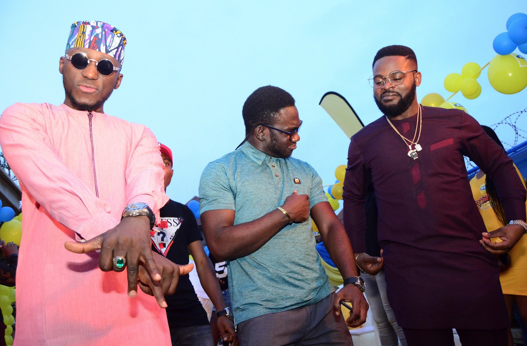 MTN Pulse House Party Season 2 KIcks Off in Abuja As Falz and DJ Spinall Overwhelm Lucky Fan with a Surprise Gig