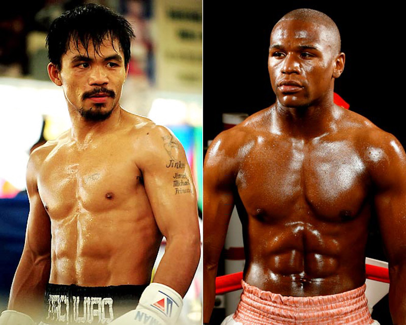 'Let's Do A Second One'- Manny Pacquiao Asks Floyd Mayweather For A Rematch