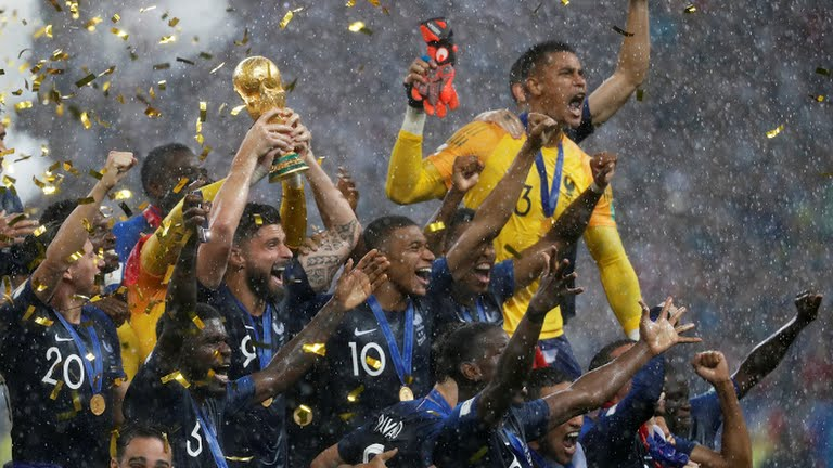 Russia 2018: Allez Les Bleus! France Are Champions Of The World