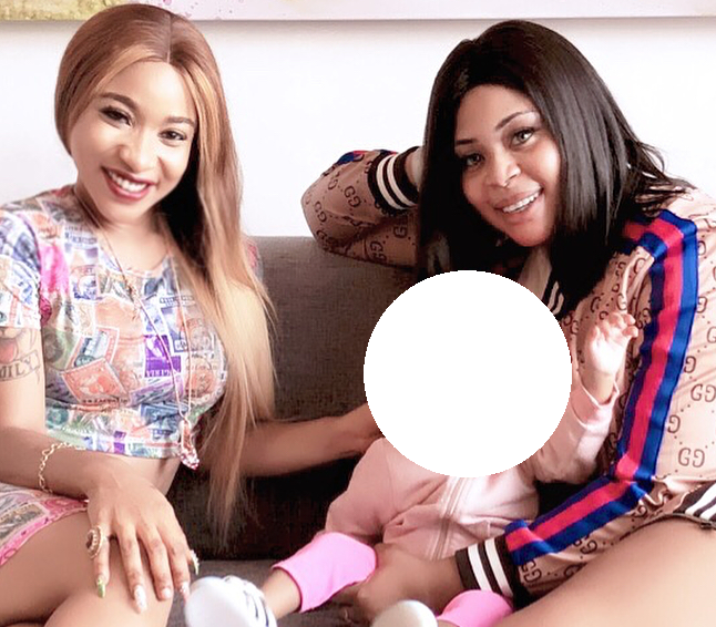 Tonto Dikeh And Mimi Orjiekwe Shows Support For Juliet Mgborukwe After Releasing Proof of Domestic Violence.