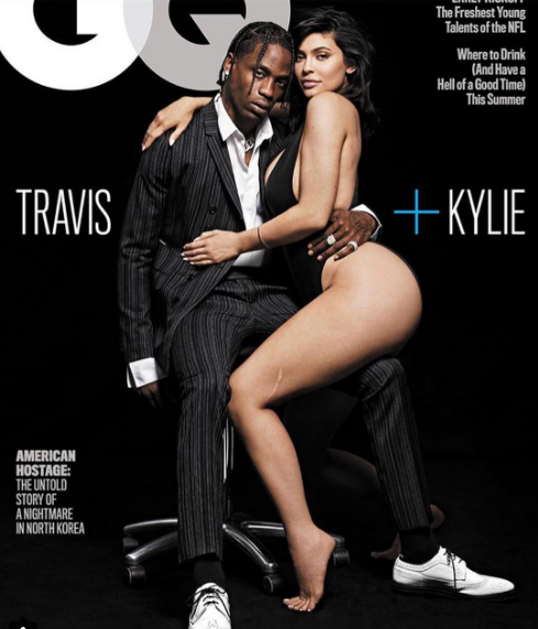 Kylie Jenner And Travis Scott Appear Madly In Love As They Feature On The Cover Of GQ Magazine