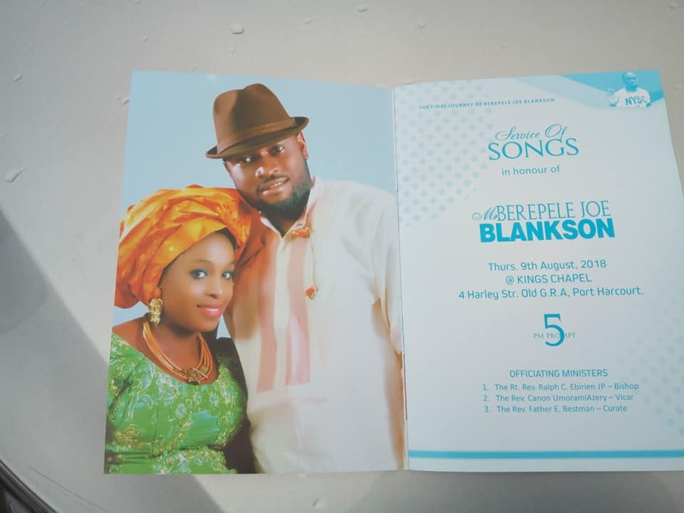Photos From Service Of Songs For Late Joe Blankson, Who Died While Rescuing 13 Persons In Boat Mishap