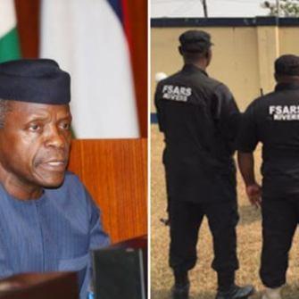 Acting President Osinbajo Listens To Nigerians, Orders Overhaul Of SARS