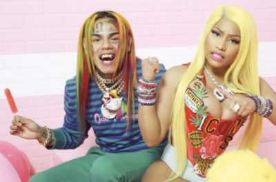 Nicki Minaj Shares Voice Note Of Rapper Tekashi 6ix9ine Making Fun Of Her Voice While Recording 'Fefe'