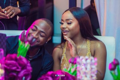 Davido Get A Tight Fan Hug But He Can't Help But Seek Permission From His Bae Chioma