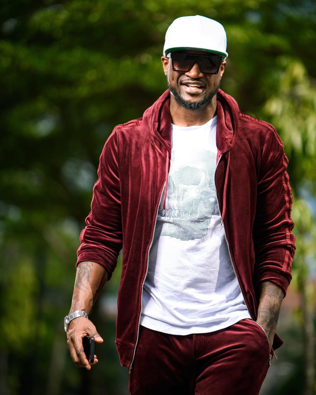 Peter Okoye Receives His First Solo Act Award As IARA's Best International Male Artist 2018
