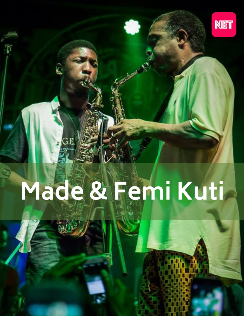 Say Hi To Our MCM's Today: Made And Femi Kuti