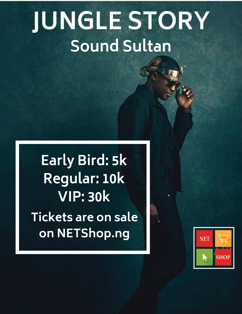 "Tickets To Sound Sultan's ""Jungle Story 2018"" Now Selling On NETShop"