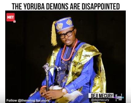 #TurnupOrTurnDown: Yoruba Demons Association 'Slam' Comedian AY Makun For #AgbadaChallenge Snub