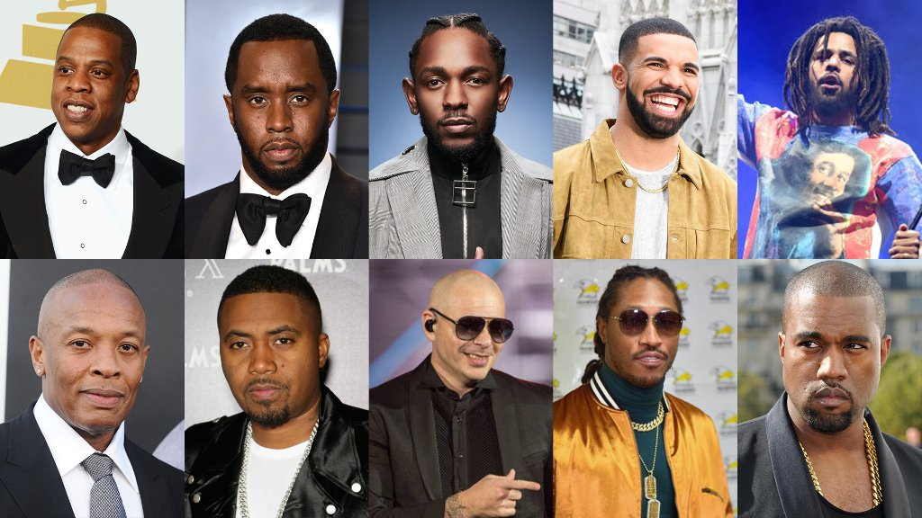 JAY-Z & Diddy Lead Forbes' List Of World's Highest-Earning Hip Hop Acts 2018