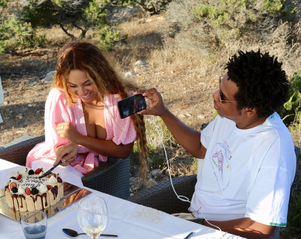 See Photos Of Beyonce Celebrating Her 37th Birthday With Rapper Husband Jay Z