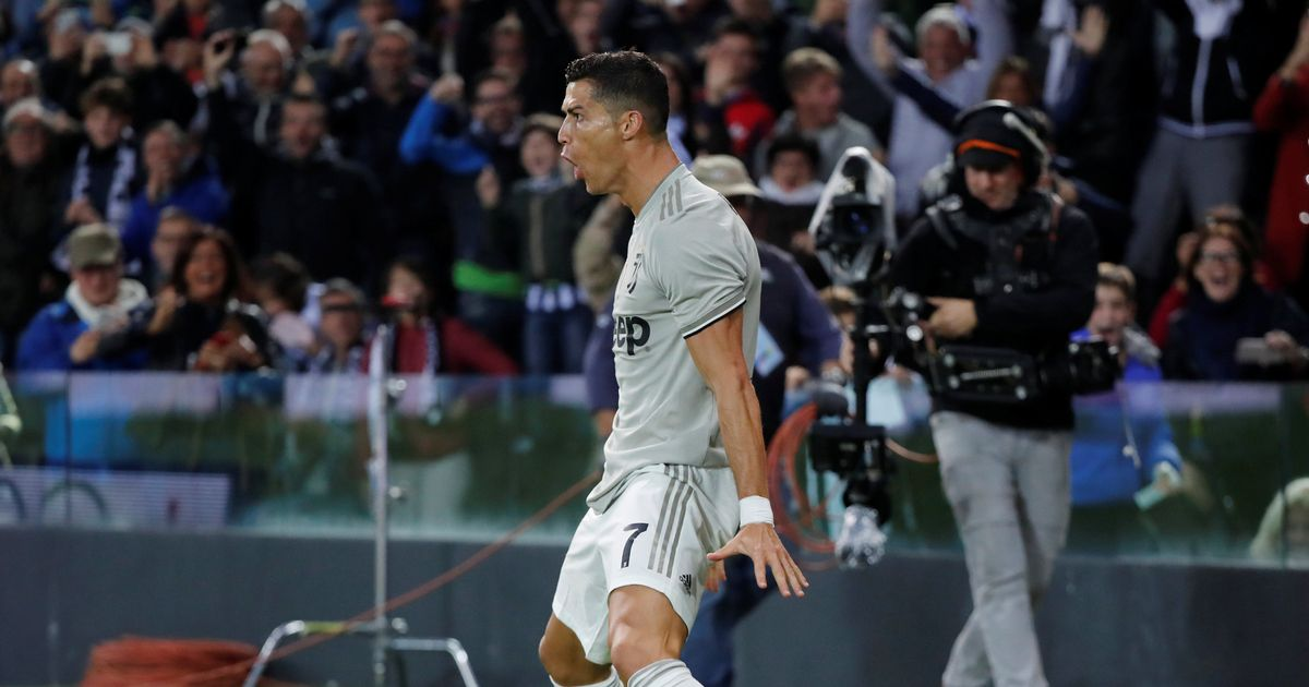 No Pressure! Cristiano Ronaldo Scores For Juventus Against Udinese In Serie A