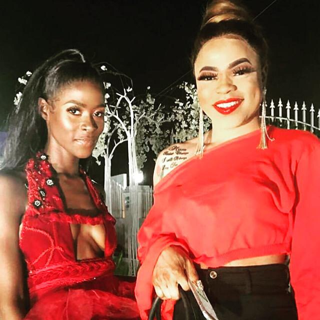 BBNaija's Khloe And Bobrisky Strike A Pose Together And Fans Can't Stop Talking About It
