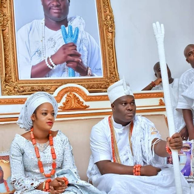 See More Photos Of Olori Prophetess Ogunwusi Performing Her Traditional Marriage Rites