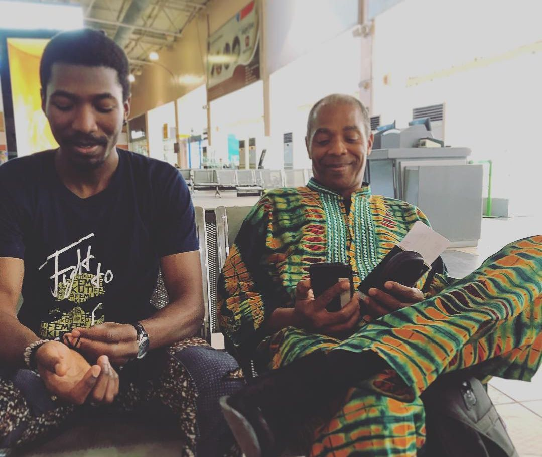 Watch Femi Kuti And His Son Made Kuti Play Together On The Stage At Felabration 2018