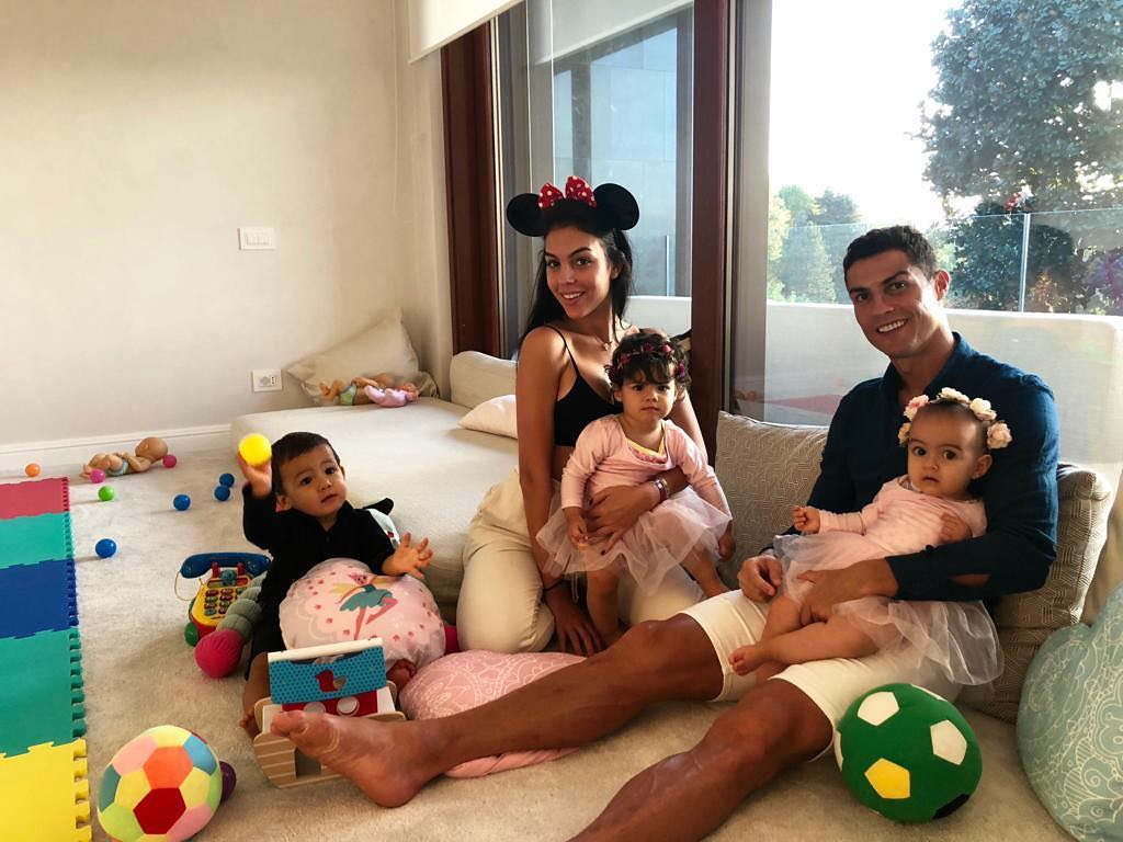 Cristiano Ronaldo And His Family Send Out Halloween Greetings
