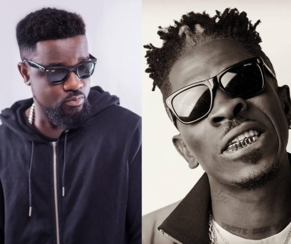 Ghanaian Rapper Sarkodie Aims Diss Record At Fellow Artiste Shatta Wale