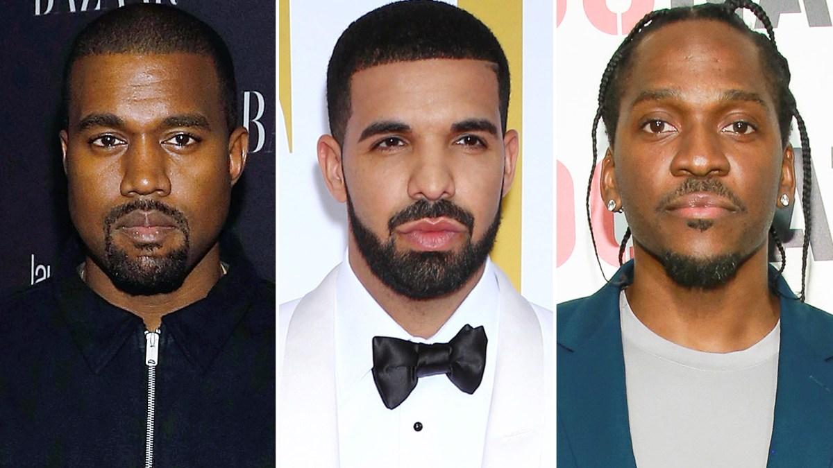 'Noah 40, Not Kanye, Leaked Info About Drake's Secret Son' - Pusha T Alleges