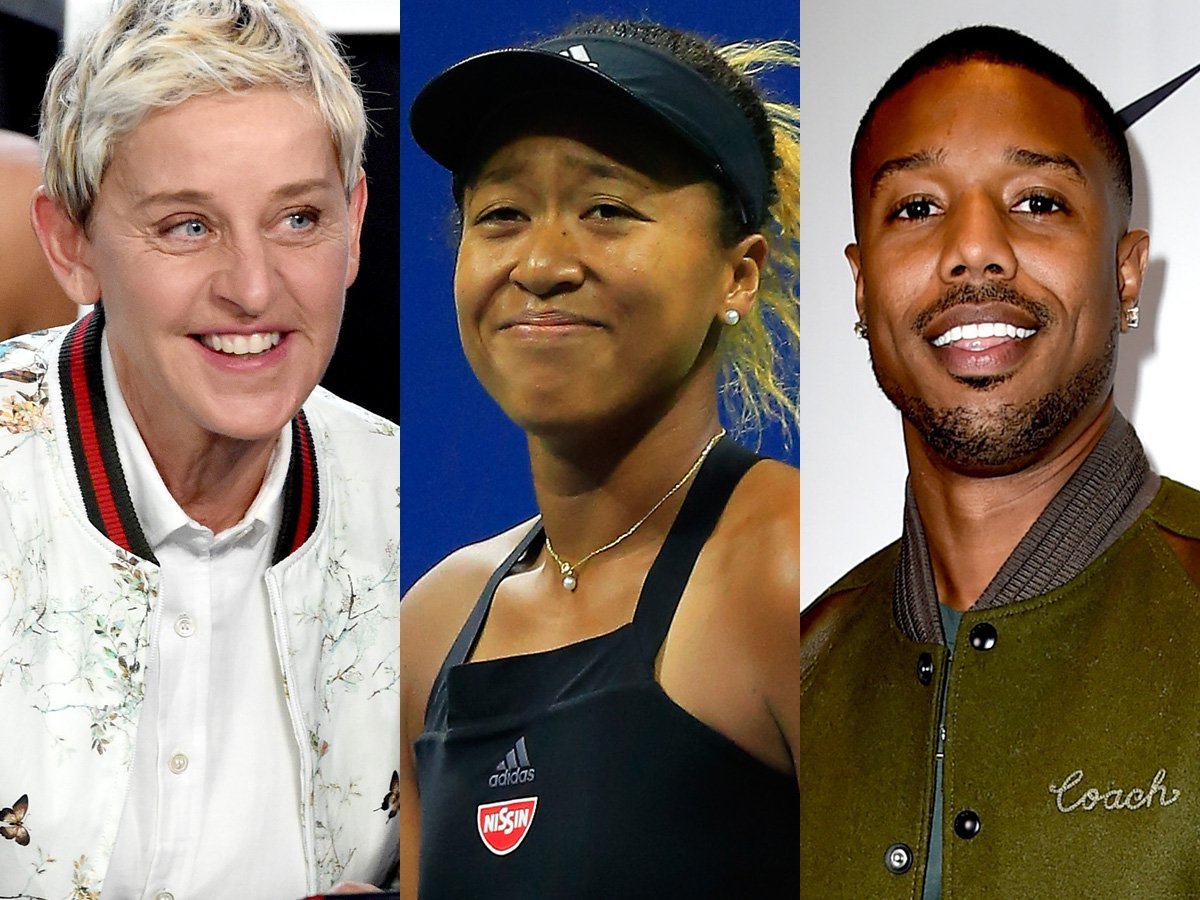 Ellen DeGeneres Sets Up Tennis Star Naomi Osaka And Black Panther's Michael B Jordan On A Date Through Twitter