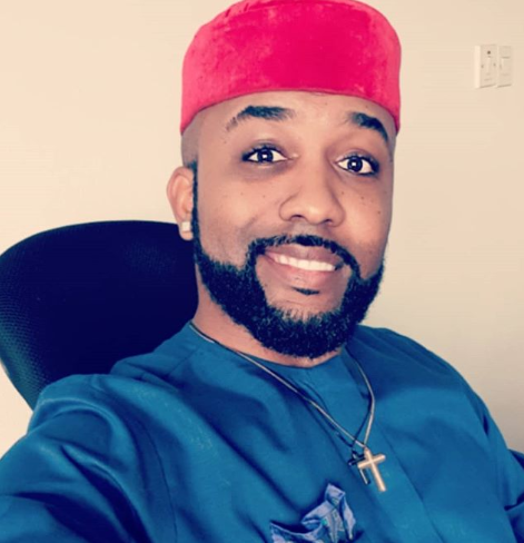 Here's Why Banky W Couldn't Support Adesua Etomi At 'King of Boys' Movie Premiere