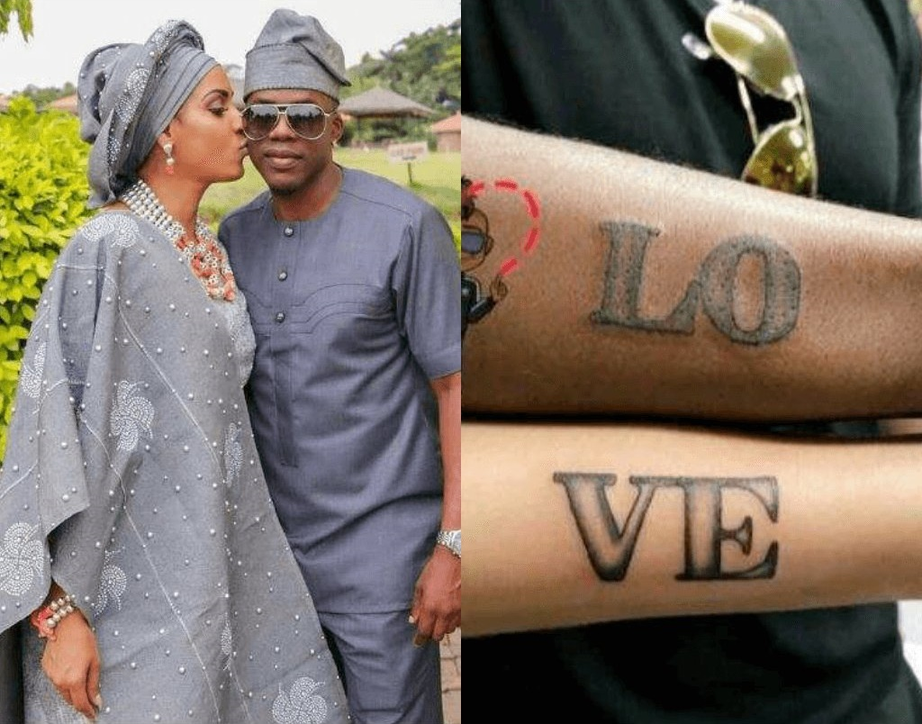 Now That Juliet Ibrahim Has Broken Up With Iceberg Slim, What Becomes Of Their Matching Tattoos?