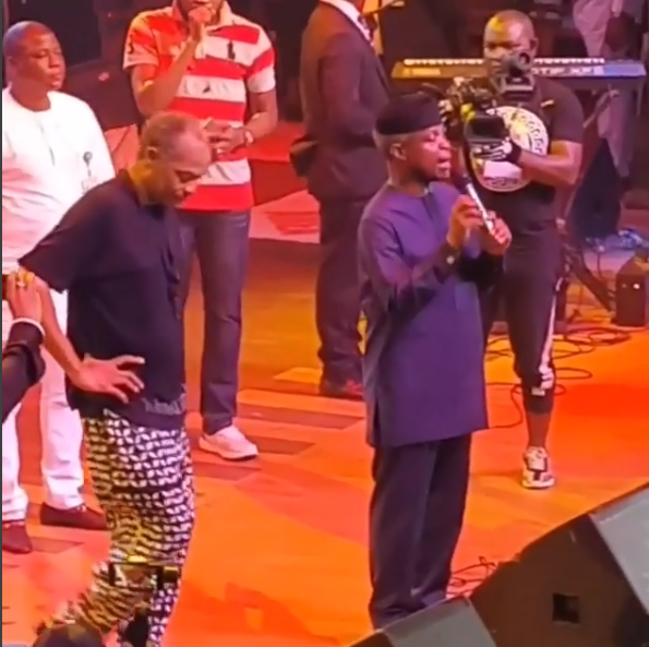 Vice President Osinbajo Prays For Nigeria, As Femi Kuti Declares That Buhari Cannot Get His Vote