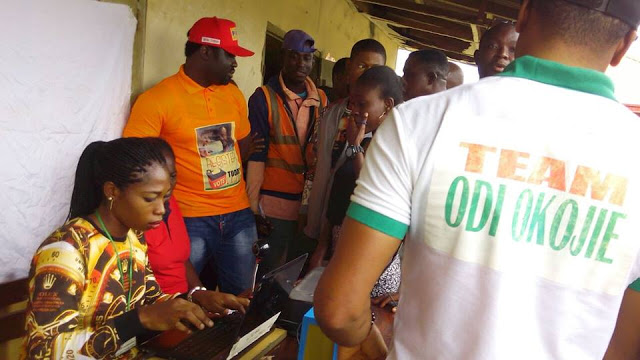Edo APC Primaries Cancelled As Mercy Johnson's Husband, Prince Okojie Led In His Constituency