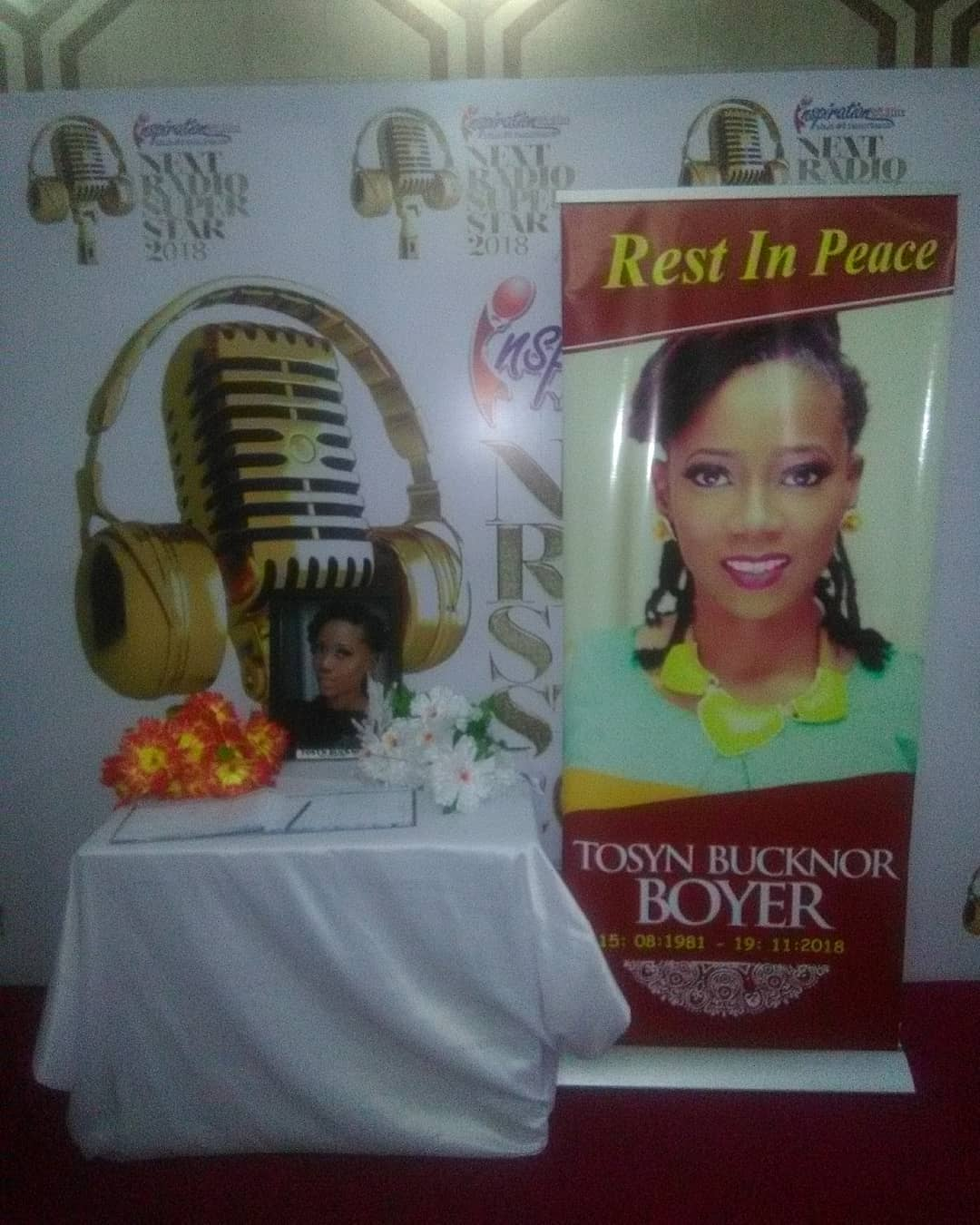 Inspiration FM Mourns Tosyn Bucknor As Over Two Thousand Names Have Signed Her Condolence Register