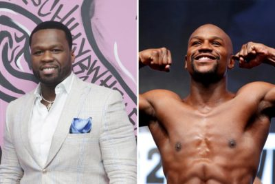 50 Cent Mocks Floyd Mayweather's Scheduled Fight With 20-Year-Old Japanese Kick-Boxer