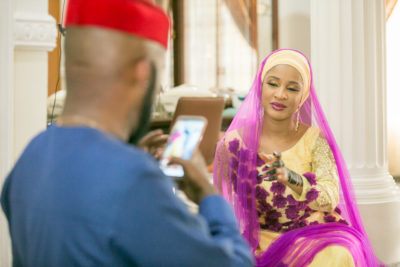 Banky W And Adesua Etomi Meet Again On Screen One Year After 'The Wedding Party 2'