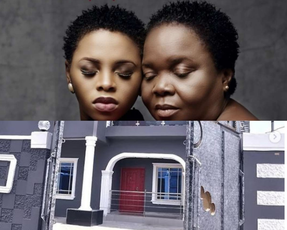 Nigerian Singer, Chidinma Ekile Buys Her Mum A House For Her 60th Birthday