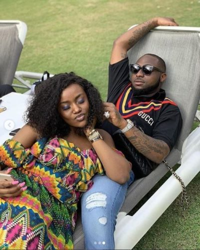 Nigerians React To Chioma's Birthday Wishes To Davido As They Wonder What She Will Get Him For His Birthday