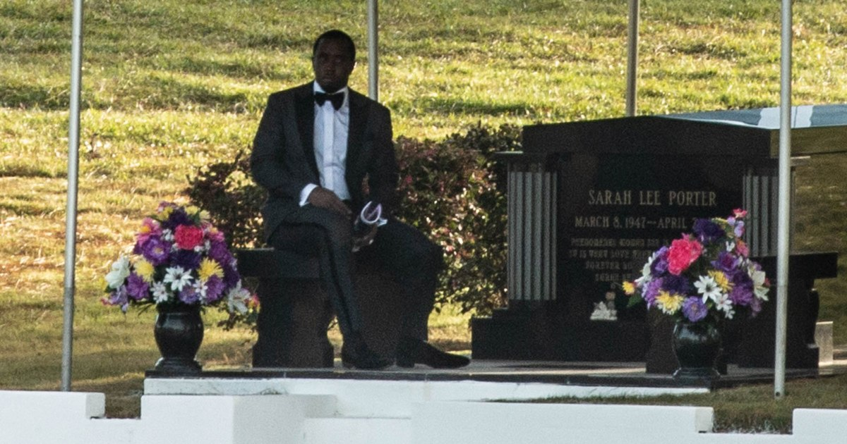 See Diddy's Teary Eulogy To Kim Porter As She Was Laid To Rest