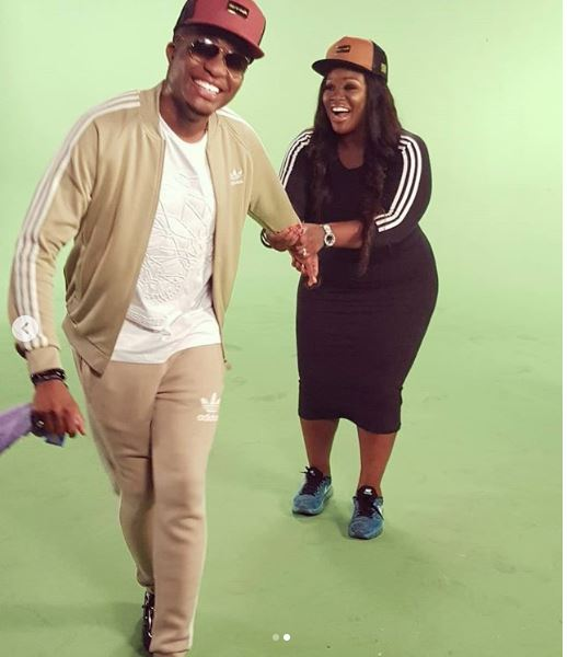 Media Personality, Toolz Celebrates Her Husband Captain Demuren As He Turns A Year Older