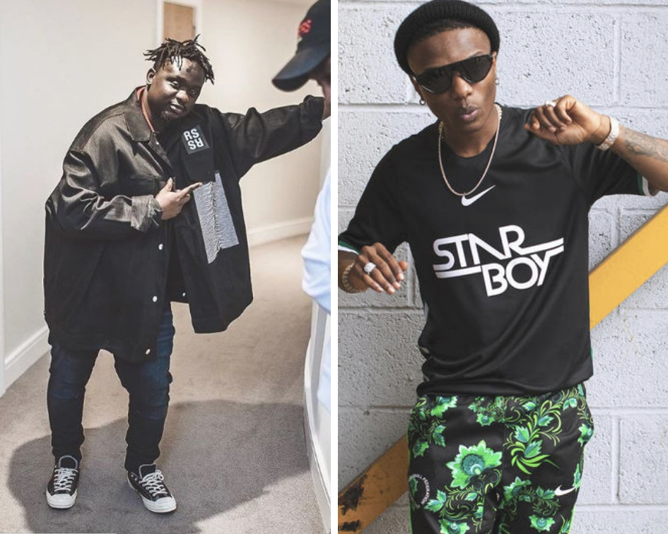 Watch How London Fans Turned Up When Wizkid Appeared And Performed At Wande Coal's Concert