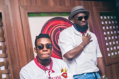 Dem Mama Records Boss, Timaya Gifts His Artiste King Perryy Brand New Car For Christmas