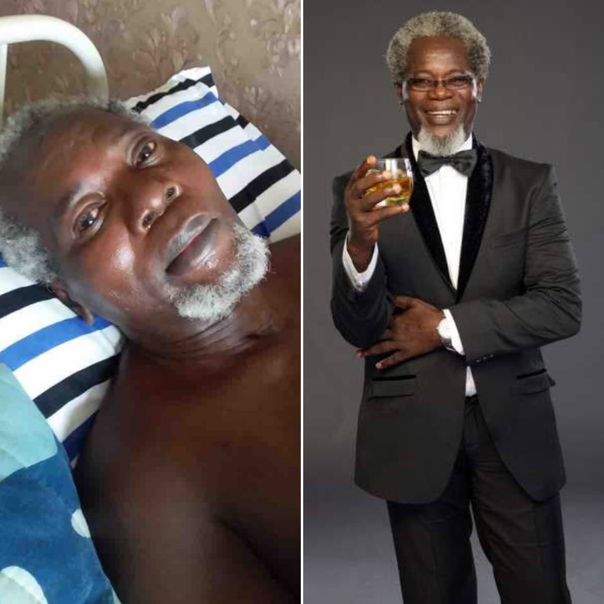 Two Years After A Ghastly Accident Crippled Him, Veteran Actor Victor Olaotan Requires Financial Assistance