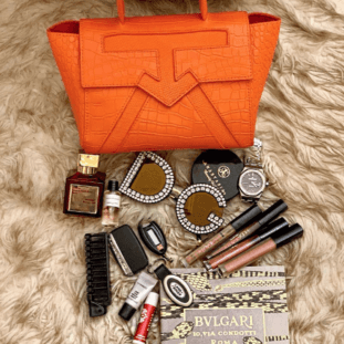 What Is Really In A Lady's Handbag?