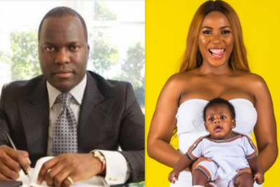 "Linda Ikeji Presents Sholaye Jeremi As Her Son's Father;  Says Both Are Now ""A Completely Closed Chapter"""