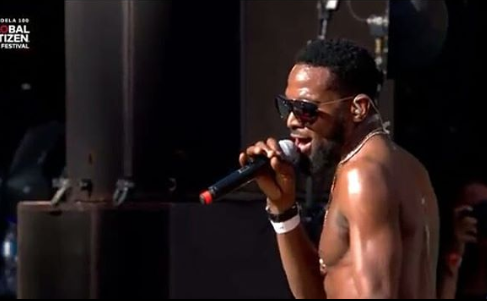 D'Banj, Femi Kuti and Other Nigerian Musicians Perform At Global Citizens Festival SA