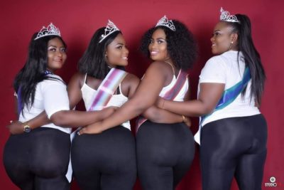 See Pictures From The Just Concluded 'Miss Biggest Bum Bum' Pageant In Bayelsa