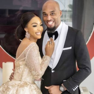 Photos: Billionaire Businessman Dilly Umenyiora And His Wife Fifi Look Gorgeous As They Celebrate Their 10th Wedding Anniversary