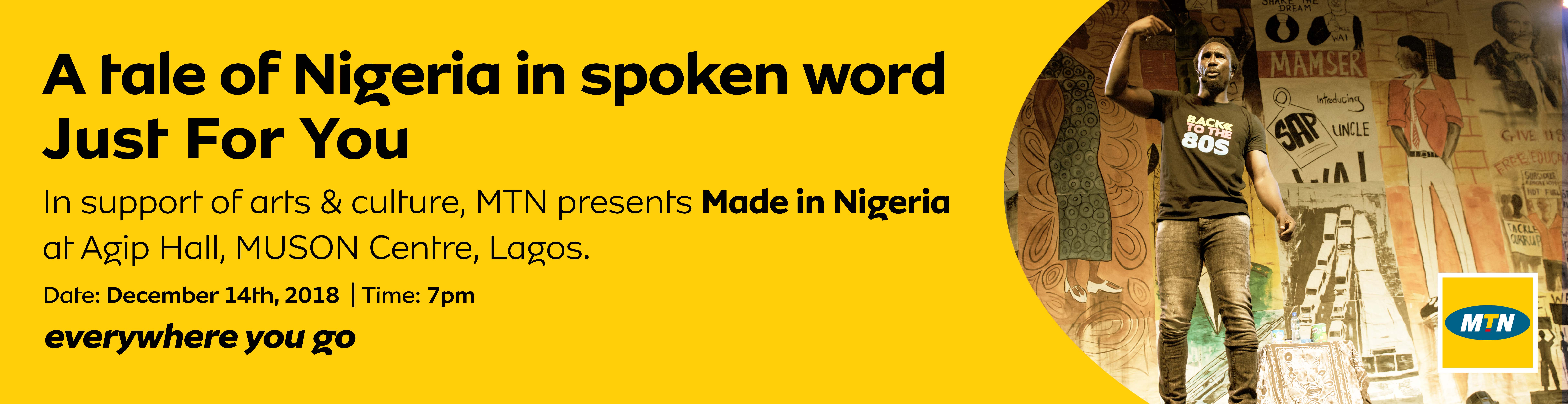 MTN Brings Back Made in Nigeria Poetry Show