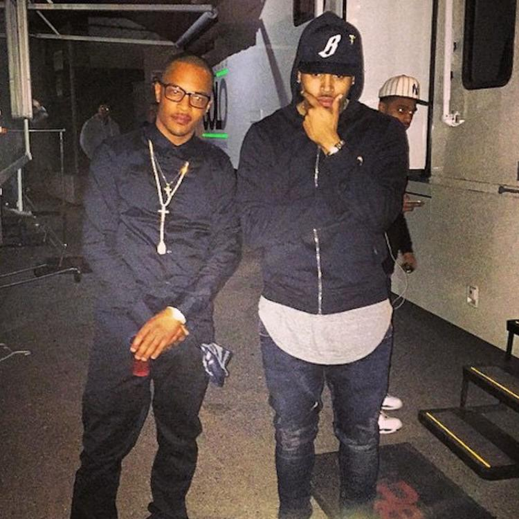 T.I. Says He Believes Chris Brown Until Evidence Shows Otherwise In Rape Accusation
