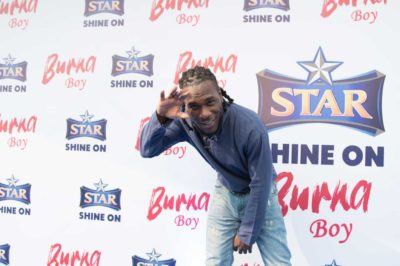 Photos: CeeC, Dakore Egbuson, TeniEntertainer, Timini Egbuson, Others Join Burna Boy To Celebrate His New Deal With Star