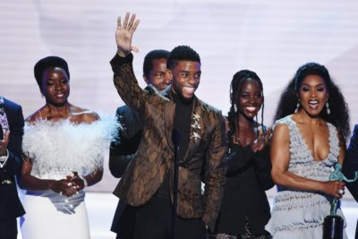 """Black Panther"" Takes 2019 SAG Awards Top Prize 