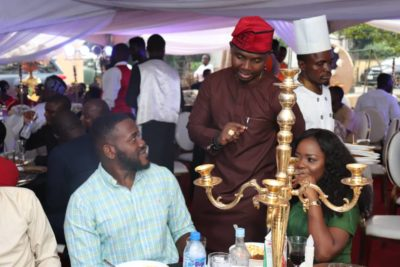 RMD, Basketmouth, Tunde And Wunmi Obe Attend Teju Babyface's 40th Birthday Party