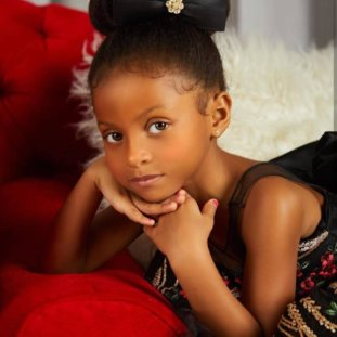 Peter Okoye Just Shared The Most Adorable Video To Wish His Daughter A Happy Birthday