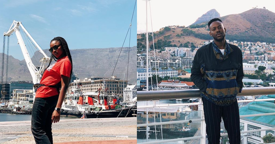 #GoldFamily: Simi And Adekunle Gold Spend Their Honeymoon In South Africa