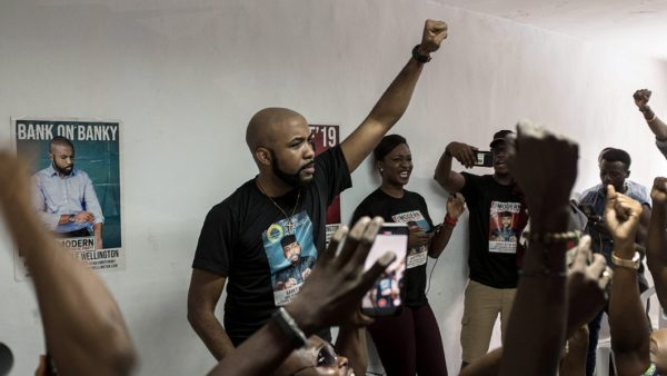 NigeriaDecides: Banky W 'Wins' His Polling Unit In Federal House Of Representatives Elections